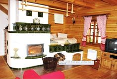 Can it get any cozier? Rocket Stoves, Modern Fence, French Cottage, Design Case, Cozy House, Save Energy, Building A House, Modern Design, Rustic