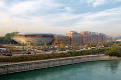 Cité Internationale de Lyon - Salle 3000 - Renzo Piano Architecte
