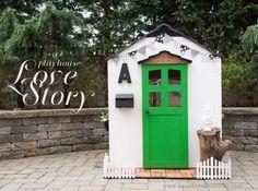 This playhouse is precious #playhouse #customized