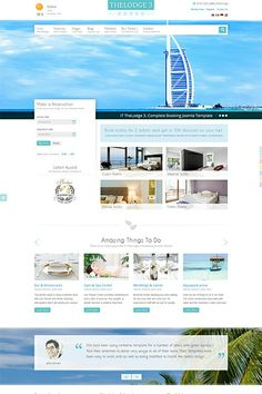 IT TheLodge 3 - Complete Booking Website with an amazing design that will attract any type of guests to easily fall in love with your hotel. Browse the Demo: http://demo.icetheme.com/?template=it_thelodge3