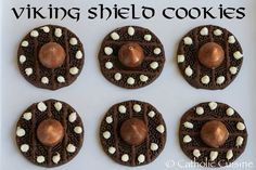 recipes for kids Catholic Cuisine: Viking Shield Cookies for the Feast of St. Magnus Catholic Cuisine: Viking Shield Cookies for the Feast of St. Dragon Birthday Parties, Dragon Party, 9th Birthday, Vikings, Viking Birthday, Viking Food, Viking Baby, Happy Feast, Medieval Party