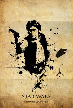 STAR WARS Han Solo Poster