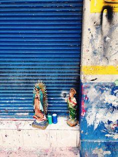 Street Prayer #VSCOcam #C2 #Urban #galactictones #mexico