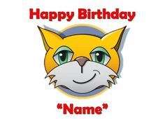Details About MR STAMPY CAT PARTY Edible Cake Topper Frosting Sheet