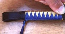 How to make RIBBON BROWBANDS. Gonna do if I ever have a second bridle for XC!
