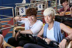 2AM, 2PM, Wander Trip, Junho, Wooyoung