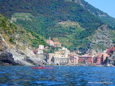Ecoturismo Liguria: Kayak tour alle Cinque Terre
