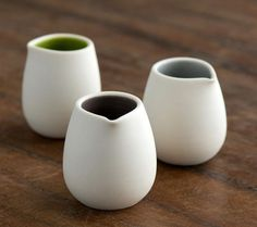 Small ceramic jugs
