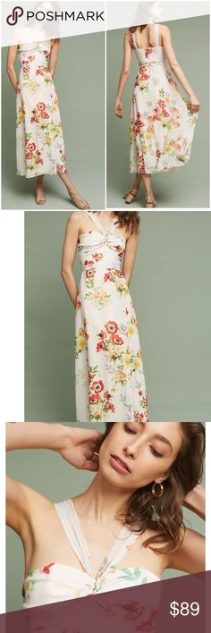 758e04107ff1 Anthropologie Yumi Kim Laysan Floral Dress NWT Sm New with tags Women's size  6 Lined gorgeous