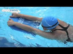 Using a Kickboard - www simplyswim com - YouTube