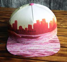Miami Heat Mitchell & Ness City Snapback Hat