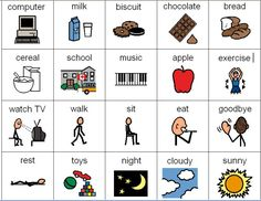 More pictures for behavior chart