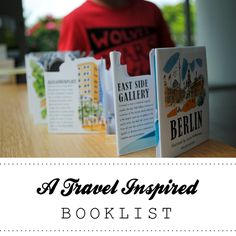 {A Travel Inspired Booklist} *Wonderful