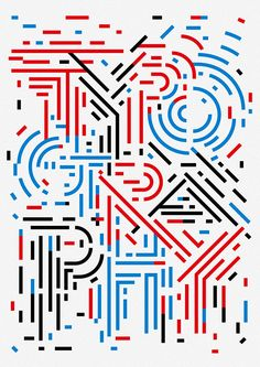 Designer Bends The Rules Of Typography, Creates Unconventional Designs - DesignTAXI.com