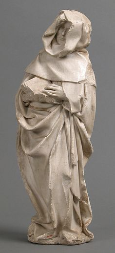 Mourner Étienne Bobillet (Franco-Netherlandish, active Bourges, 1453) Artist: Paul de Mosselman (Franco-Netherlandish, active Bourges, 1453) Date: ca. 1453 Geography: Made in Bourges, Berry, France Culture: French Medium: Marble with traces of gilding