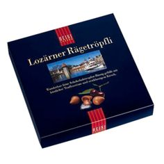BEST chocolates I've EVER had...need more.   Lozärner Rägetröpfli hell (hell means 'light' / milk chocolate) - they don't ship to the US...so if anyone's going to Switzerland, let me know!  :)