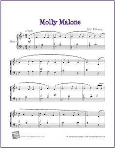 Printable sheet music for piano \