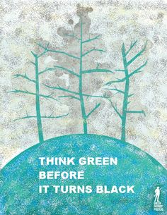 We can make positive changes now so that things don't turn dark tomorrow. Work toward a safe clean energy future.