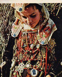 Spanish traditional folk costume