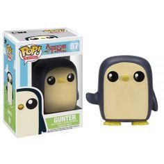 Cabezón Gunter, 10cm. Hora de Aventura Funko POP TV Cabezón de 10cm perteneciente al personaje Gunter basado en la serie de Tv Hora de Aventura.