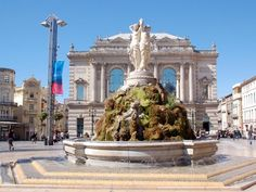 """Montpellier ~ Languedoc-Roussillon ~ France ~ """"The Three Graces"""" Fountain Places Ive Been, Places To Go, Canal Du Midi, Beau Site, Destinations, Ville France, Voyage Europe, Antibes, City Break"""
