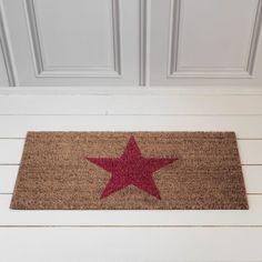 Pink Star Doormat