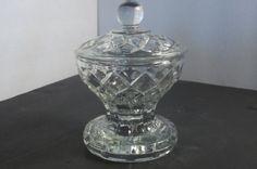 Etsy Sale Crystal Pedestal Candy by VintageCastaways on Etsy