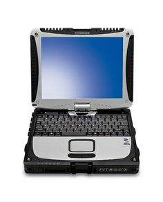 Panasonic Toughbook CF-18 Mk2. With one quick swivel the wireless Panasonic Toughbook CF-18 transforms from a fully-rugged maximum-performance notebook pc to a fully rugged tablet pc. #Toughbook Available for purchase from www.pan-toughbooks.com
