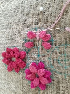 Wonderful Ribbon Embroidery Flowers by Hand Ideas. Enchanting Ribbon Embroidery Flowers by Hand Ideas. Creative Embroidery, Simple Embroidery, Silk Ribbon Embroidery, Crewel Embroidery, Embroidery Stitches Tutorial, Hand Embroidery Patterns, Embroidery Techniques, Embroidery Thread, Embroidery Supplies