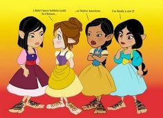 Platinum Masquerade: H: Funny Disney Princesses!