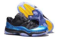 """http://www.hireebok.com/air-jordans-11-retro-low-nightsnake-metallic-blue-snakeskin-blackyellow-for-sale-discount-hcrzazz.html AIR JORDANS 11 RETRO LOW """"NIGHTSNAKE"""" METALLIC BLUE SNAKESKIN/BLACK-YELLOW FOR SALE DISCOUNT HCRZAZZ Only $92.00 , Free Shipping!"""