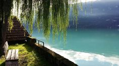 Take a seat and enjoy the beautiful view on the #lakebrienz :-)