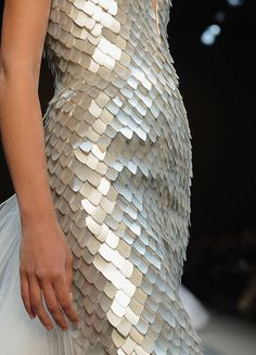 "lastfashionhero: "" Georges Chakra Spring 2010 Haute Couture details """