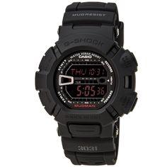 Casio G9000MS-1 Men's G-Shock Black Resin Digital Chronograph Dial Watch - Discount Watch Store