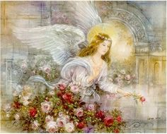 Angel of Love, by Lena Y. Liu