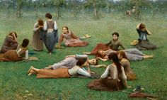 'After the Game' by Fausto Zonaro, an Italian painter. Zonaro did portraits, landscapes, & historical paintings. John William Godward, Henri Fantin Latour, Italian Painters, Italian Artist, Rudolf Von Alt, Antoine Laurent, But Is It Art, Virtual Art, Art Story