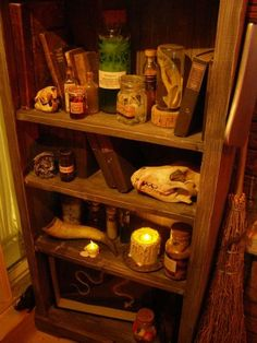 Witches prop ideas and inspiration... witch scene in Haunted Bayou Shack!