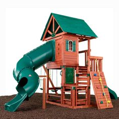 Swing-N-Slide Southampton Wood Complete Ready-To-Assemble Residential Wood Playset@ Lowes $1649