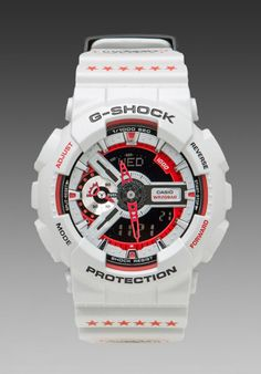 G-Shock Limited Edition Eric Haze in White. Great summer watch.