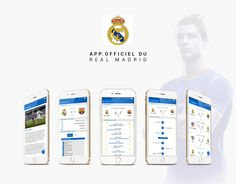 Real Madrid, Ios, Behance, Gallery, Projects, Check, Log Projects, Blue Prints, Roof Rack