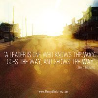 a leader is inspirational images mercy ministries