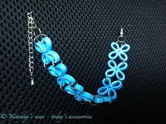 Quilled paper bracelet by papersbynena.deviantart.com on @DeviantArt