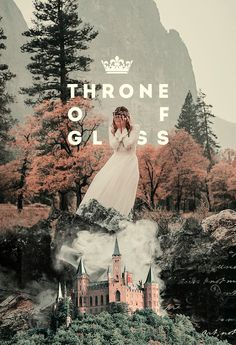 """THRONE OF GLASS ❖ SARAH J. MAAS ↳ cover redesign ❝ """"You could be different,"""" Elena said quietly. """"You could be great. Greater than me— than any of us."""" Celaena opened her mouth, but no words came out. Elena took a step toward her. """"You could rattle the stars,"""" she whispered. """"You could do anything, if you only dared. And deep down, you know it, too. That's what scares you most."""" ❞"""
