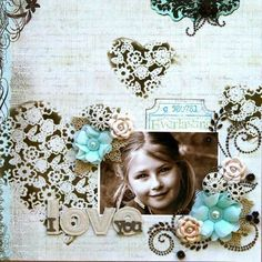 Whimsical Wall Decor, Beautiful Layout and Festive Frame on LWP this week!