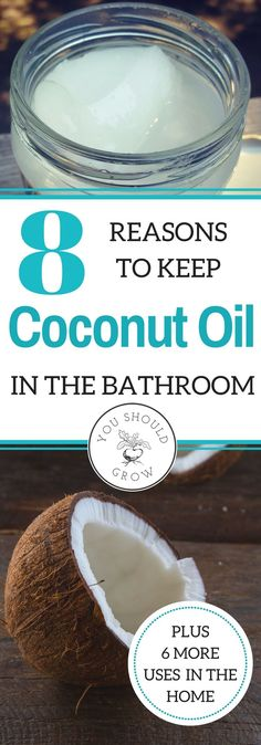 Of the many uses for coconut oil, my favorites are how I use it for maintaining healthy skin