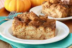 Perfect Pumpkin Bread Pudding Recipe | Hungry Girl