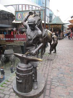 Camden Market, London. I LOVED it here. One of my fav. places in London. Just wish I'd gone there more often.