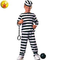 Disfraz de Prisionero #infantil #disfraces