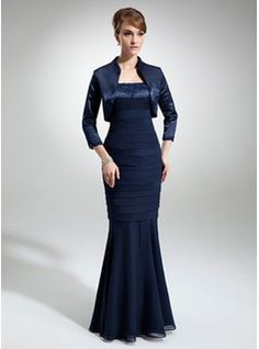 Mother of the Bride Dresses - $184.99 - Mermaid Square Neckline Floor-Length Chiffon Charmeuse Mother of the Bride Dress With Lace Beading  http://www.dressfirst.com/Mermaid-Square-Neckline-Floor-Length-Chiffon-Charmeuse-Mother-Of-The-Bride-Dress-With-Lace-Beading-008006188-g6188