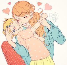 Haikyuu!! - Yachi and mom